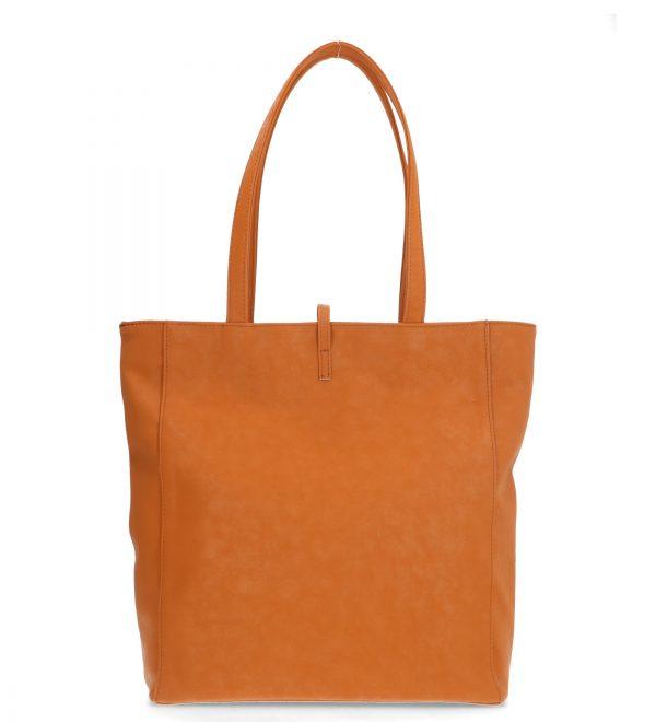 wygodna torebka karen pomarańczowa
