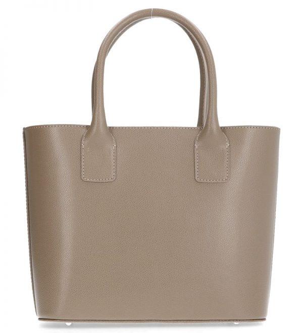 elegancka torebka karen skóra naturalna beżowa