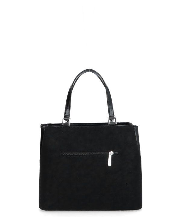 Nina torebka czarna usztywniona Karen