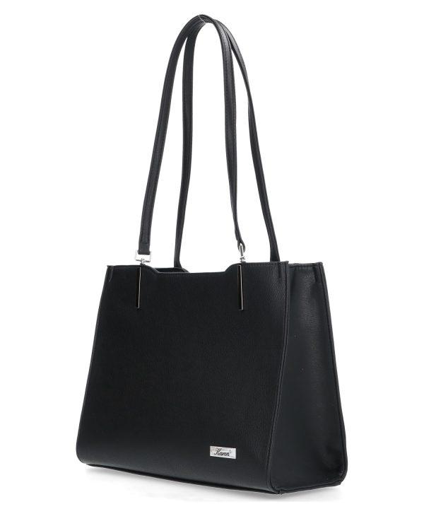 torebka z długimi uszkami karen czarna